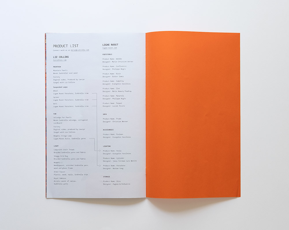 Milan Design Week Brochure